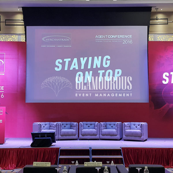 Conference Corporate Event Planning and Build Merchantrade