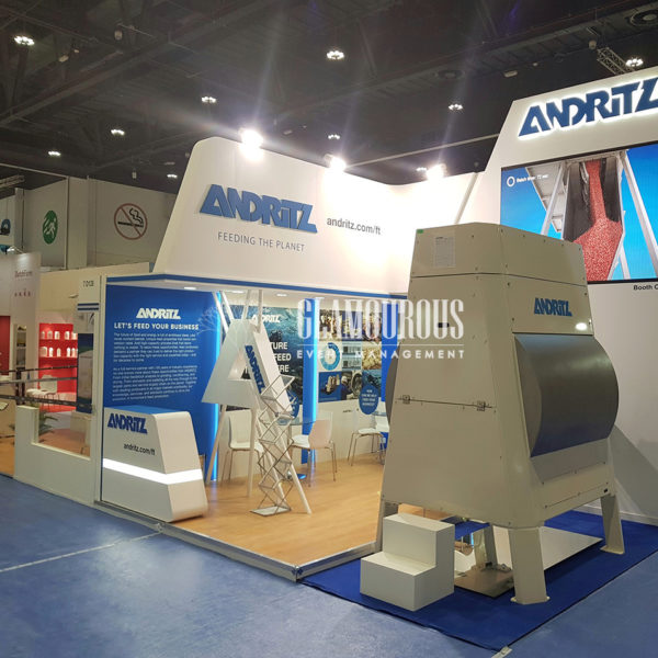 Exhibition Booth Stand Design and Build Andritz Denmark
