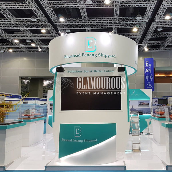 Exhibition Booth Stand Design and Build Boustead Penang Shipyard