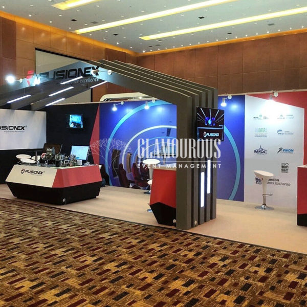 Exhibition Booth Stand Design and Build Fusionex