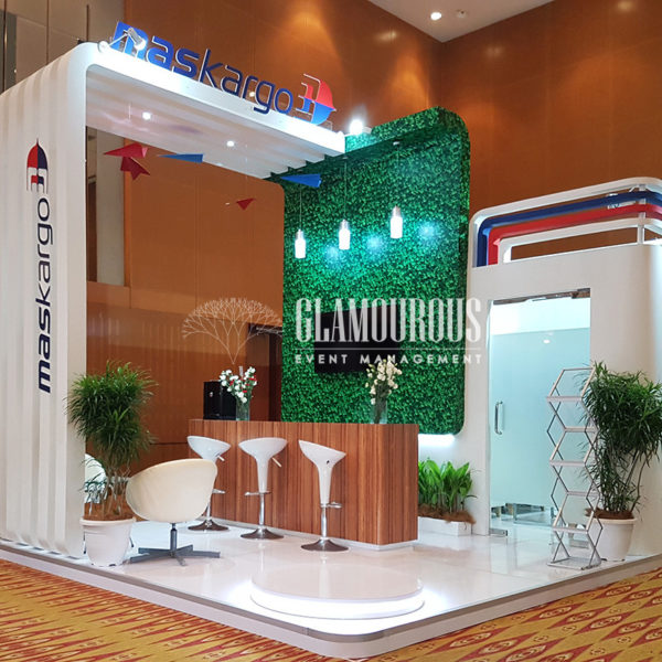 Exhibition Booth Stand Design and Build MASKargo