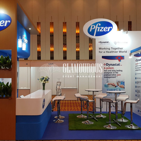Exhibition Booth Stand Design and Build Pfizer