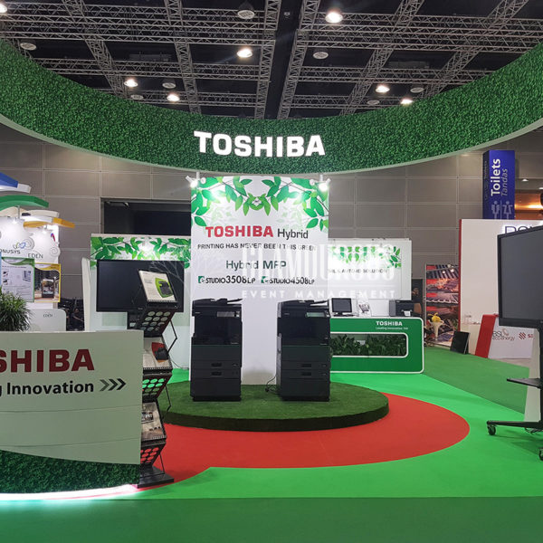 Exhibition Booth Stand Design and Build Toshiba