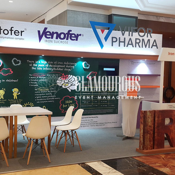 Exhibition Booth Stand Design and Build Vifor Pharma Singapore
