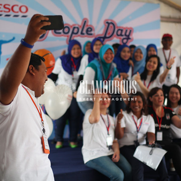 Team Building Corporate Event Planning and Build Tesco